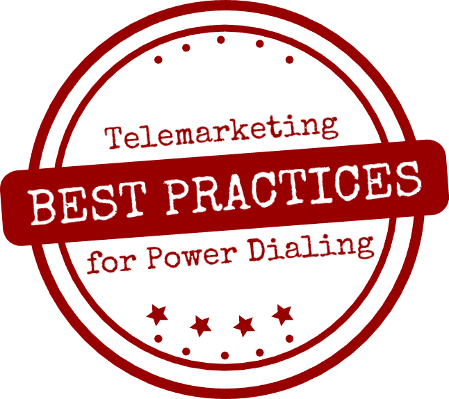 Best practices for power dialing