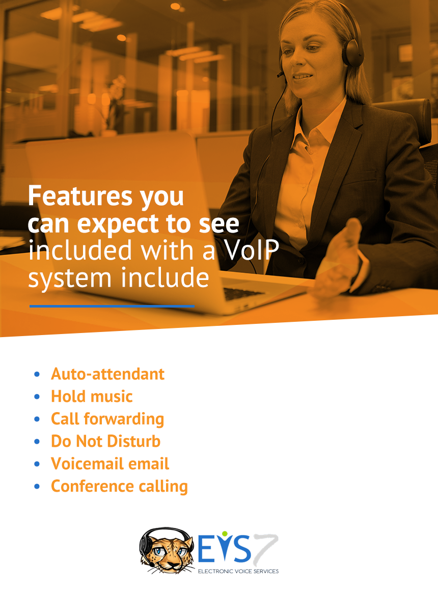 features of voip