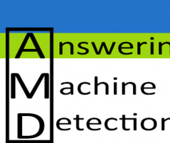 Answering Machine Detection (AMD)