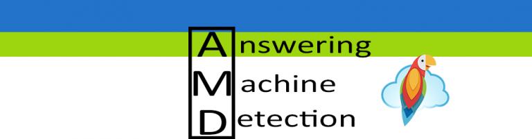 Answering Machine Detection (AMD)