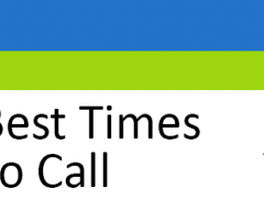 Best Times to Call