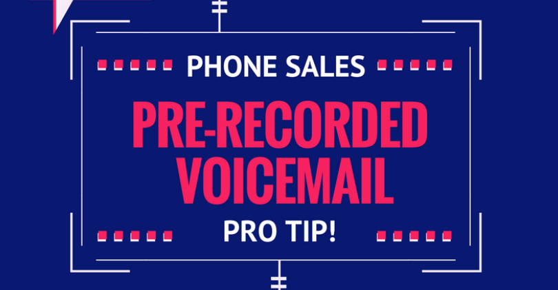 Leave a Pre-Recorded Voicemail Drop